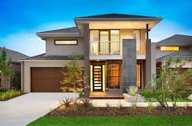modern two story house plans modern double story house plan stupendous house ideas