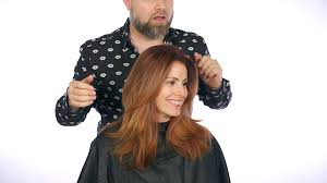 the sexiest layered haircut thesalonguy youtube