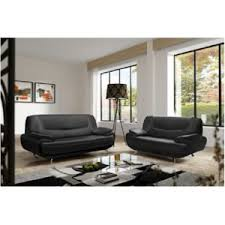 canapé design noir et blanc design canapé design 3 2 bregga 2 noir 349cm x 89cm x 87cm