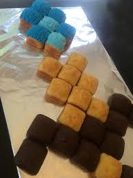 minecraft cupcakes minecraft diamond sword cake tutorial mumturnedmom