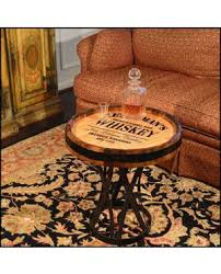 whiskey barrel side table wine whiskey barrel coffee tables with storage