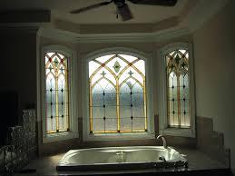 Idea For Bathroom Stained Glass Window Treatments U2013 Gabpad