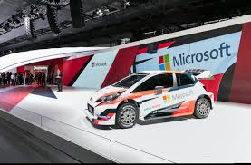 toyota company japan microsoft and toyota join forces in fia world rally championship