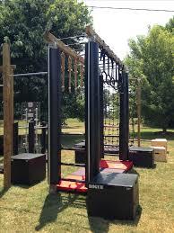 Backyard Foam Pit Best 25 Outdoor Gym Ideas On Pinterest Backyard Gym Outdoor