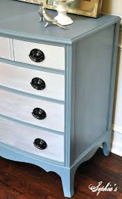 Dressers Bedroom Furniture by Brave Two Tone Grey Also White Painted Chest Of Drawer Added