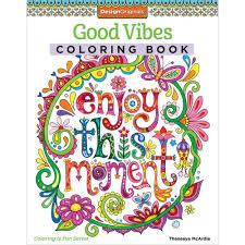 good vibes coloring book u2022 design originals coloring book creative