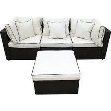 Modern Wicker Patio Furniture Modern Patio Sets Allmodern
