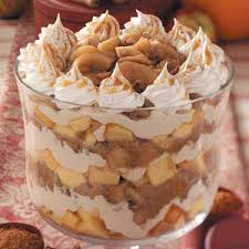 caramel apple trifle recipe taste of home