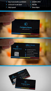 Free Business Card Designs Templates 30 Best Stylish Business Card Templates Designazure Com