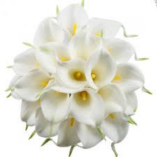 Artificial Flower Bouquets Silk Lilies Artificial Wedding Bouquets Ebay