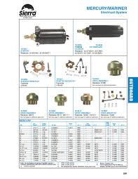 sierra marine engine and drive products for mercury mariner