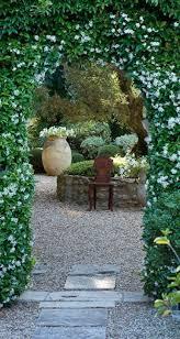 star jasmine archway to courtyard in provence france u2022 designer