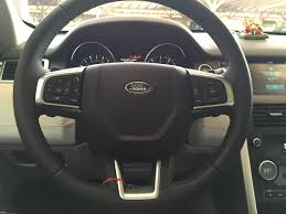 land rover steering wheel cover life with a land rover discovery sport team bhp