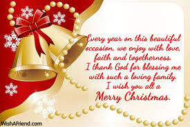 every year on this beautiful occasion merry message
