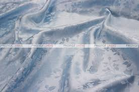 brocade satin fabric by the yard baby blue prestige linens