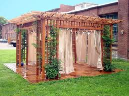 8 ideal pergola curtains estateregional com