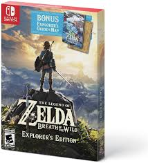 European Exploration Map Amazon Com The Legend Of Zelda Breath Of The Wild Explorer U0027s