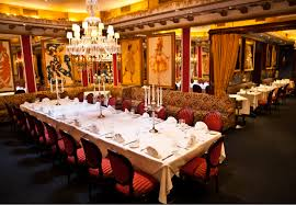 dining room at firebird restaurantrow nyc eat fancy dining