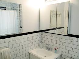 charming subway tile bathroom gray pictures images blackloor pic