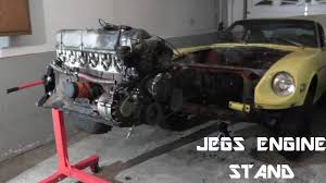 Jegs Auto Parts Jegs Engine Stand Assembly And Review Youtube