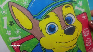 crayola color wonder paw patrol psi patrol nickelodeon coloring
