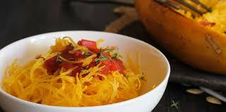 comment cuisiner comment cuisiner la courge spaghetti femme actuelle