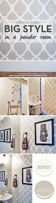 bathroom stencil ideas stencils for bathroom walls
