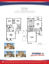 Dr Horton Cambridge Floor Plan by Dr Horton Homes Floor Plans