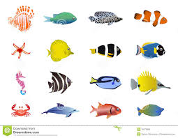 sea creatures clipart kavalabeauty