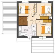 maison avec 4 chambres plan de maison avec 4 chambres evtod