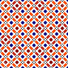moroccan pattern mosaic tiles islamic ornaments seamless vector