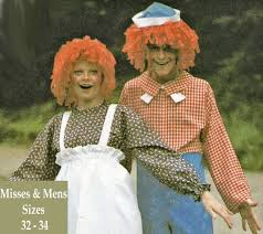 matching halloween costumes raggedy ann and andy costume patterns matching halloween costumes