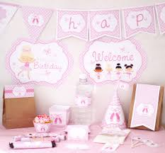 Gold And Pink Party Decorations Birthday Party Decorations Pink