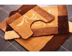 bathroom rug sets bathroom rug sets with elongated lid cover