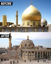 syria before and after 15 before after photographs of historical sites destroyed by war