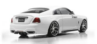rolls royce modified wald international u0027s rolls royce wraith is a drama queen