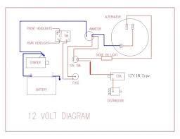 ih cub 12 volt wiring diagram wiring schematics and wiring diagrams
