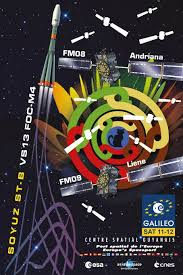 galileo design galileo satellites 11 and 12 integrated for arianespace s year end