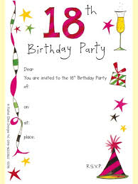template for birthday party invitation images invitation design