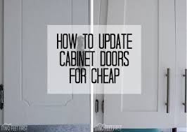 Redo Kitchen Cabinet Doors Update Cabinet Doors To Shaker Style For Cheap Shaker Style