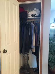 help for a tiny too shallow coat closet hometalk