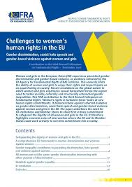 women s challenges to women s human rights in the eu european union