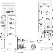 narrow house plans for narrow lots modern narrow house plans front base model modern narrow lot house