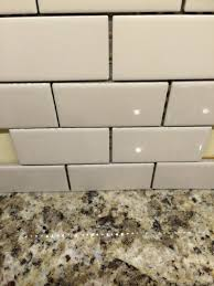 off white subway tile kitchen backsplash fresh off white subway