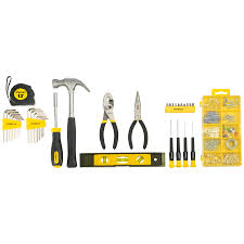 shop stanley household tool set with soft case at lowes com