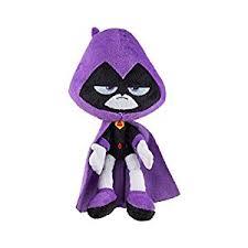 amazon teen titans jazwares 7 plush raven toys u0026 games