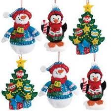 disney ornament kit to make sequined felt applique pooh