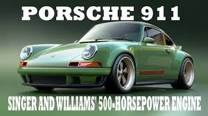 first porsche look this the first porsche 911 to get singer and williams