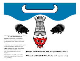 New Brunswick Flag Oromocto
