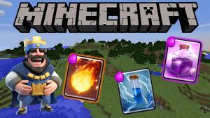 clash royale in minecraft 1 11 1 10 only one command spells